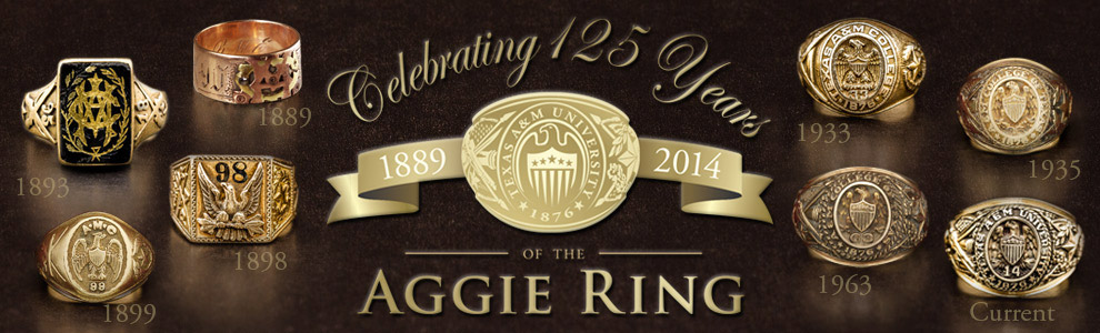 Aggie Ring 125th