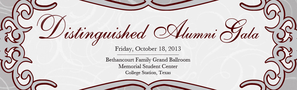 Distinguished Alumni Gala